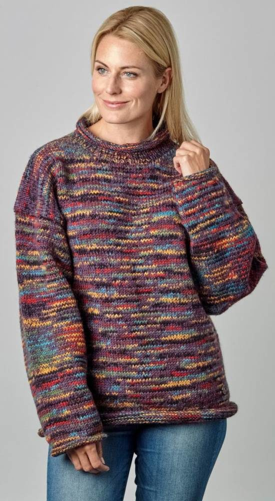 MULTI COLOURED JUMPERS BERRY ELECTRIC