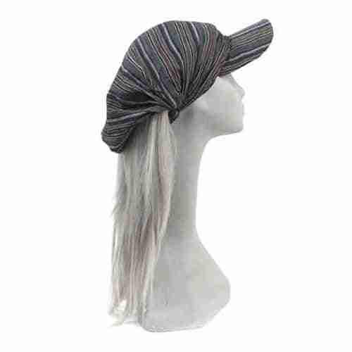 Striped Cap Headband