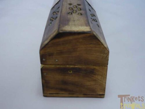 Karma scents wooden incense box