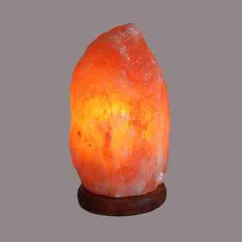 Quality Natural Himalayan Salt Lamp - & Base approx 2-3kg