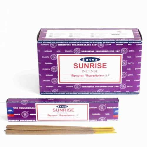 Sunrise Satya Incense Sticks 60g free postage