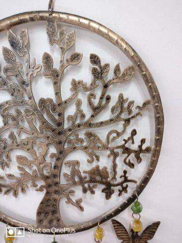 Tree of life windchime mobile, beads & bells