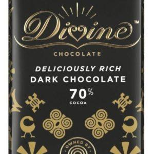 Divine Fair Trade 70% Dark Chocolate 90g