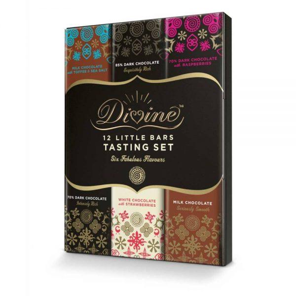 Divine Chocolate Tasting Set (180g)